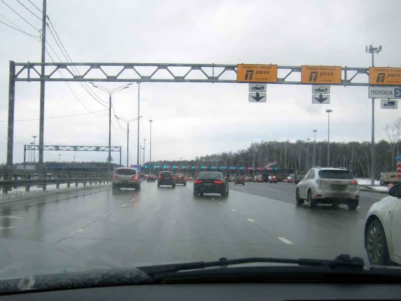 Потенциальный штраф за неоплату проезда по платным дорогам могут снизить до 1,5 тыс. рублей