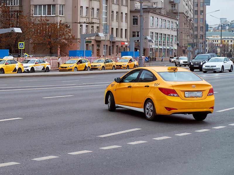 Столичные власти признали почти 30% машин такси в Москве нарушителями правил перевозок