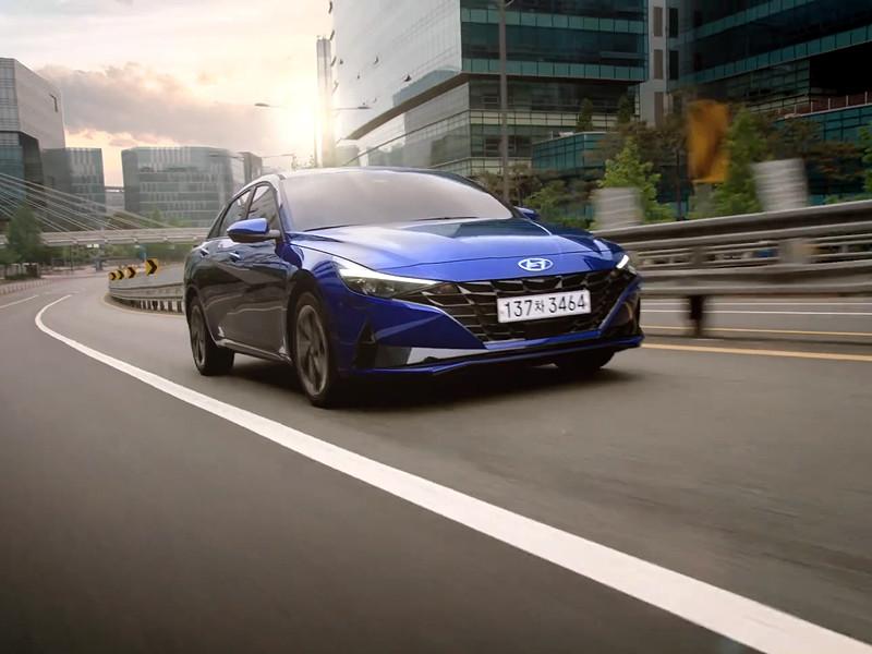 Hyundai раскрыла российские цены нового седана Elantra