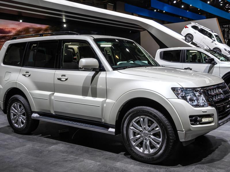 Mitsubishi отзывает в России внедорожники Pajero из-за проблем с подвеской
