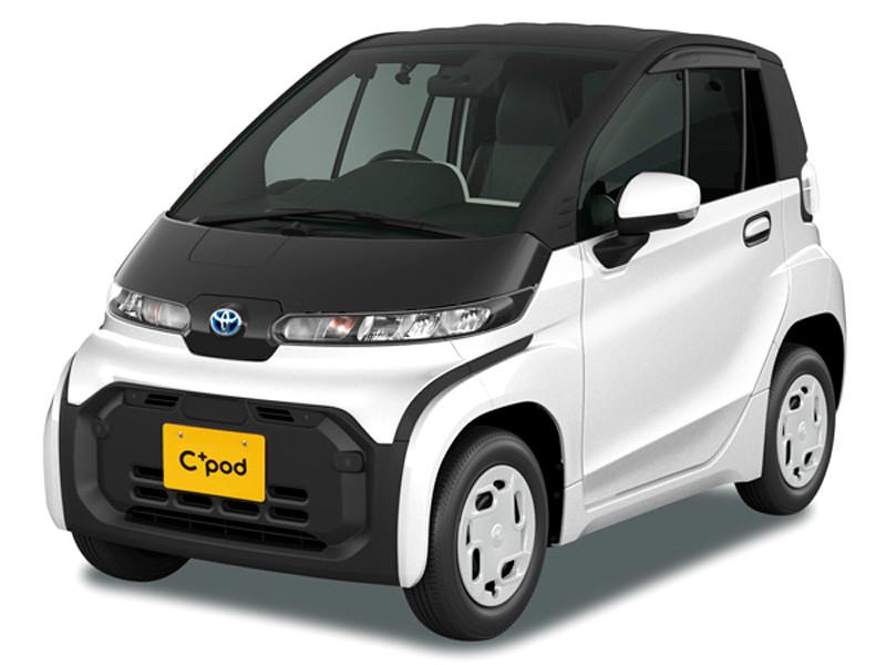 Toyota выпустила сверхкомпактный двухместный электрокар