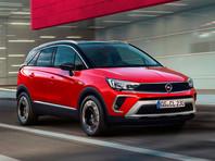 Opel привезет в Россию обновленный кроссовер Crossland до конца марта