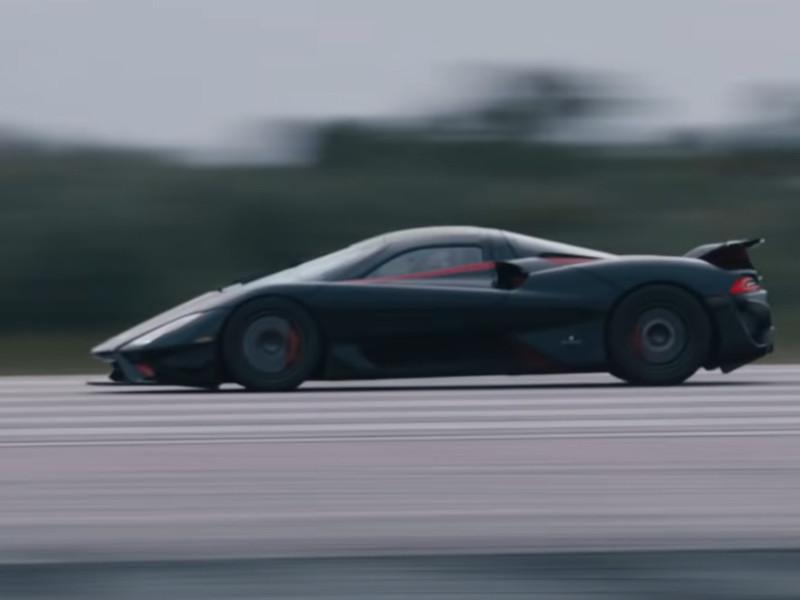 Гиперкар SSC Tuatara повторно установил новый мировой рекорд скорости