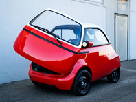 В Швейцарии выпустят электрическую копию знаменитого микроавтомобиля BMW Isetta