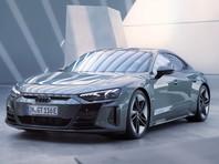 Audi представила электрический седан e-tron GT