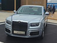 Российский люксовый седан Aurus Senat подорожал почти на четверть еще до начала продаж