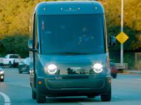 Amazon начала использовать полностью электрические фургоны для доставки товаров клиентам