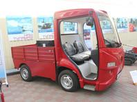 В Туле начали производство компактных электрических грузовиков для полиции