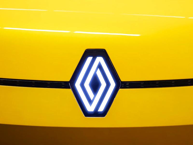 Компания Renault представила обновленный логотип