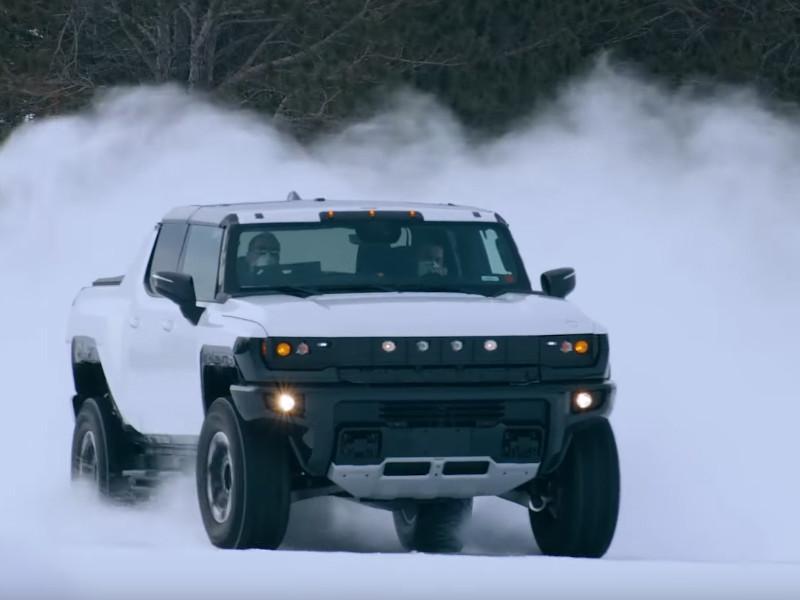 GMC представит электрический внедорожник Hummer 3 апреля
