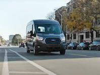 В России запустят производство электрических фургонов Ford E-Transit