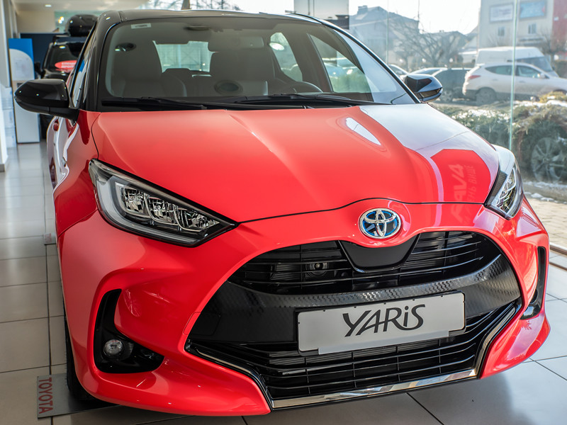 Хэтчбек Toyota Yaris стал автомобилем года в Европе