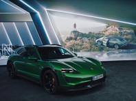 Компания Porsche представила электрический универсал Taycan Cross Turismo (ВИДЕО)