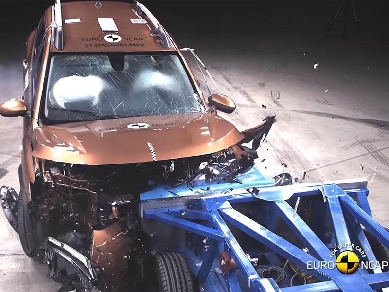 Новые Dacia Logan и Sandero Stepway провалили краш-тест EuroNCAP