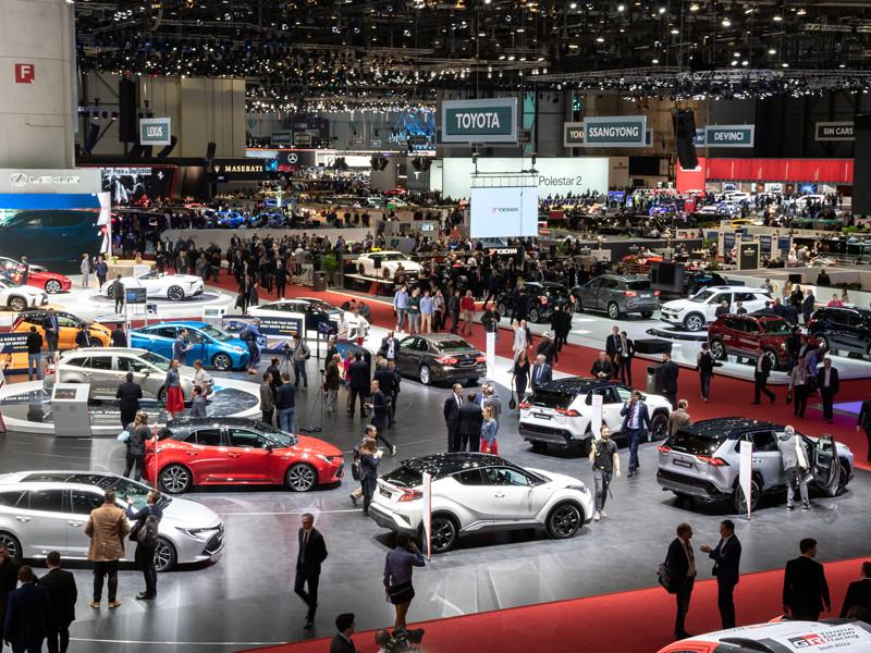 Женевский международный автосалон, март 2019 года