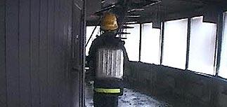 Установлена причина пожара на телебашне