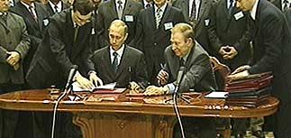 Завершились переговоры президентов России и Украины