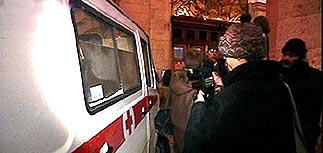 """В Москве на станции метро """"Белорусская"""" произошел взрыв"""