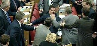 Депутаты Госдумы передрались из-за Земельного кодекса