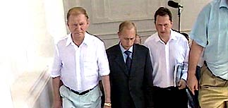 Путин и Кучма встретились в Севастополе