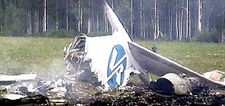 Ту-154 разбился из-за ошибки второго пилота