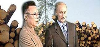 Ким Чен Ир отдаст долги России, послав корейцев на сибирские лесоповалы