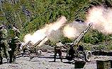 По Гудермесу было выпущено 400 артиллерийских снарядов