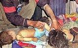 При бомбежке Кабула мать потеряла мужа и 7 детей