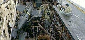 """В пятом отсеке """"Курска"""" найдены тела еще 5 моряков"""