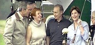 Путин пригласил Буша в Россию