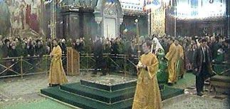 Россия празднует Рождество Христово