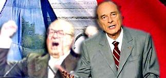 Ширак создает единый фронт против ультраправого Ле Пена