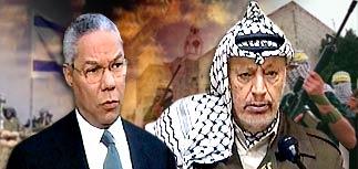 Пауэлл и Арафат готовят совместное заявление
