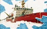 100 россиян в ледовом плену Антарктики. Топливо кончается.