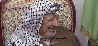 Арафат поблагодарил Россию за поддержку народа Палестины
