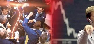 На бирже Нью-Йорка снова спад. Минфин РФ предвидит мировой финансовый кризис