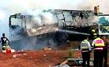 Камикадзе врезался на Kia в автобус в Израиле - 14 убиты, 50 ранены