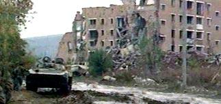 Российские военные взорвали шесть жилых домов в Ханкале