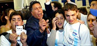 Выборы в Израиле: победила партия Ариэля Шарона