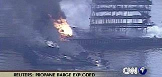 Взрыв на нефтяном заводе в Нью-Йорке - есть погибшие