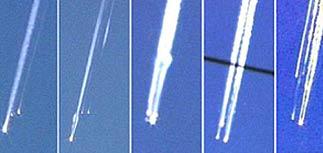Астронавтов убила молния или странное явление