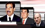 В первую десятку диктаторов мира вошли Хусейн, Лукашенко и Ниязов
