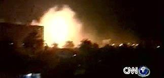 Самая мощная бомбардировка Ирака с начала войны