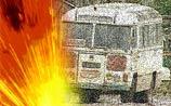 В центре Грозного взорван автобус - 8 погибли, более 10 ранены