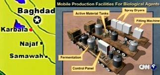 США нашли мобильные лаборатории Саддама
