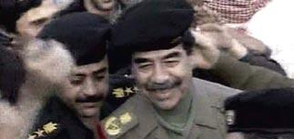 Саддам доказал, что он жив, прогулявшись по Багдаду