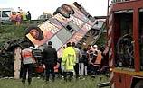 28 человек погибли в катастрофе автобуса во Франции