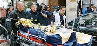 Взрыв в центре Парижа - 25 раненых. Здание разрушено