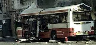 В Иерусалиме взорван автобус: 16 убиты, 97 ранены