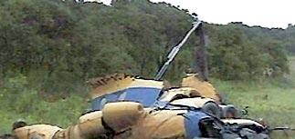 С места катастрофы Ми-8 вывезли тела всех погибших